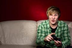 gry obsługują bawić się wideo potomstwa Obrazy Royalty Free