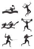 gry olimpijskie ilustracji