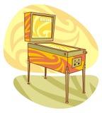 gry pinball retro ilustracji