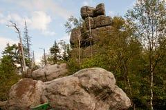 Góry stołowe Royalty Free Stock Images