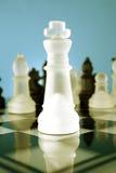 gry szachowej króla Obraz Stock