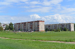 Gryazi, Russia - 07.23.2015. General view of the town of Gryazi - a major rail hub in South-Eastern Railway Royalty Free Stock Image