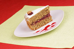 gryczanego torta kawałek Zdjęcia Stock