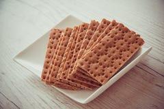 Gryczany crispbread Zdjęcie Stock