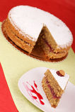 gryczany tort Zdjęcia Royalty Free