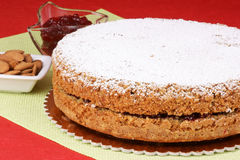 gryczany tort Fotografia Royalty Free