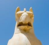 Gryf statua Zdjęcia Royalty Free