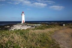Gryf wyspy latarnia morska zdjęcie stock