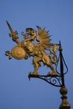 gryfa wiatrowskaz Zdjęcia Royalty Free