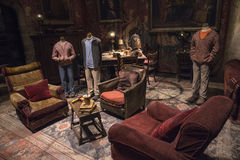 Gryffindor Common Room Royalty Free Stock Image