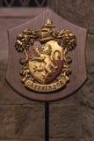 Gryffindorwapenschild in de Grote Zaal royalty-vrije stock afbeeldingen
