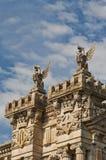 Gryffins en el acceso de Barcelona Imagenes de archivo