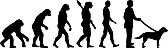 Gryfon ewolucja royalty ilustracja