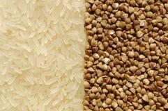 gryka kontakt ryż inni ryż Obrazy Stock