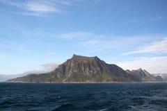 Gryllefjord,塞尼亚岛,挪威 库存图片