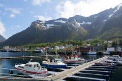 Gryllefjord, Senja, Norway Royalty Free Stock Photo