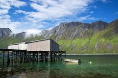 Gryllefjord, Senja, Norway Stock Image