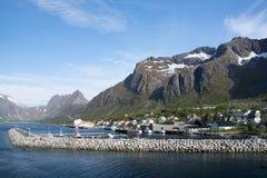 Gryllefjord, Senja, Norway Stock Photos
