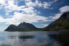 Gryllefjord, Senja, Norway Stock Photography