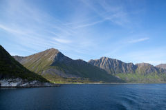 Gryllefjord, Senja, Norway Royalty Free Stock Images