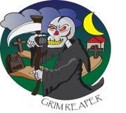 grym reaper Vektor Illustrationer