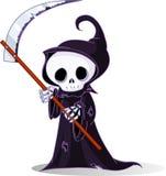 grym reaper för tecknad film Arkivfoton