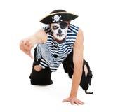 grymt piratkopiera ståenden fotografering för bildbyråer