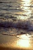 gryning exponerad rockhavssun Royaltyfria Foton