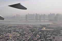 Gryning på Dubai Arkivbild