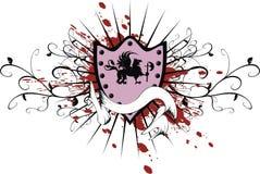 gryphon пальто рукояток heraldic Стоковое Изображение RF
