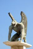 Gryphon statue Royalty Free Stock Photos