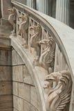 Gryphons des Treppenhauses Lizenzfreies Stockfoto