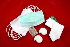 grypowej podstawy 2 chlewni h1n1 Fotografia Stock