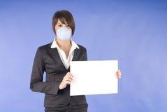 grypy wykonawcza maska kobiety swaine kobieta Zdjęcia Royalty Free