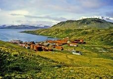 Grytviken, Georgia del sud immagini stock libere da diritti