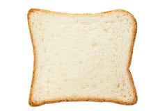 Grzanka biały chleb Fotografia Royalty Free