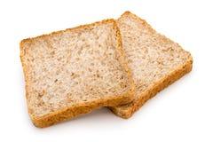 Grzanka chleb odizolowywający na białym tle obraz royalty free