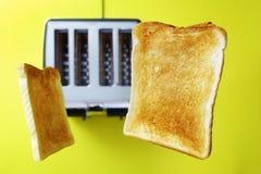 Grzanka lub wznoszący toast chleb obraz stock