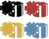 Grzebaków układy scaleni w różnych kolorach fotografia royalty free