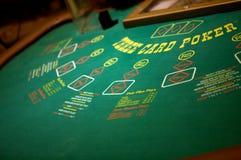 grzebaka stół Fotografia Royalty Free