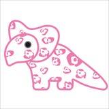 grzebienia Dino osłona Fotografia Stock