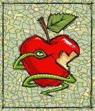 grzech pierworodny symbole Zdjęcie Stock