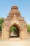 Grzechu Byu goleni klasztorny kompleks, Bagan, Myanmar Fotografia Royalty Free