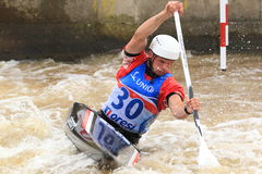 Grzegorz Hedwig - water slalom world championship Stock Photography