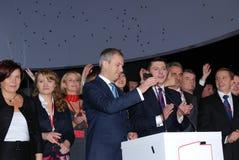 Grzegorz Napieralski, chairman SLD Royalty Free Stock Image