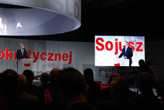 Grzegorz Napieralski, chairman SLD Stock Photos