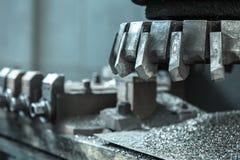 grzejny maszynowy metalu przerobu narzędzie Obrazy Royalty Free