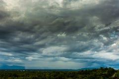 grzmot burzy nieba Podeszczowe chmury fotografia royalty free