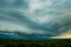 grzmot burzy nieba Podeszczowe chmury zdjęcie royalty free