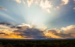 grzmot burzy nieba Podeszczowe chmury zdjęcia royalty free